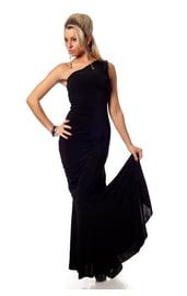 Длинное элегантное платье