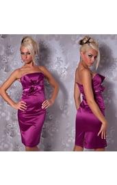 Платье-футляр цвета Фуксии