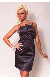 Темно-серое платье-карандаш