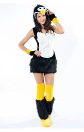 Костюм милого пингвина