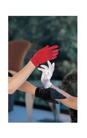Черные короткие перчатки