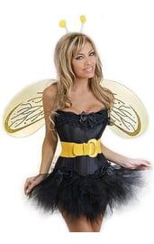 Корсетный костюм пчелки