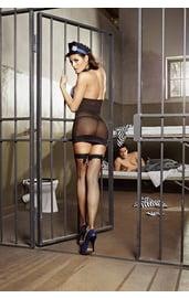 Комплект сексуальной надзирательницы