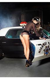 Костюм игривой полицейской