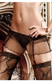 Подвязки для чулок с юбочкой