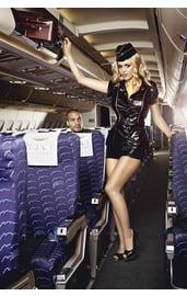 Соблазнительный костюм стюардессы