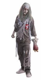 Серый костюм зомби доктора