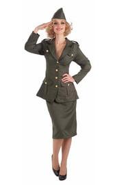 Костюм армейской леди