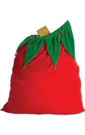 Вельветовый мешок для Санты