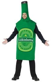 Зеленый костюм Бутылка пива
