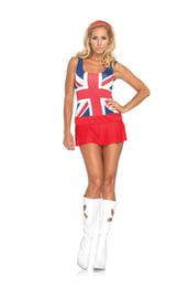 Костюм британской девушки