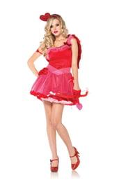 Красный костюм Купидона