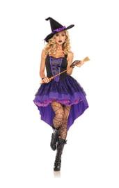 Костюм ведьмочки малышки фиолетовый