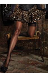 Леопардовая пышная юбочка