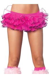 Неоновая розовая юбочка Туту