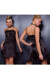Свободное платье черное