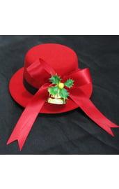 Шляпка с рождественским колокольчиком