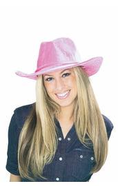 Вельветовая ковбойская шляпа