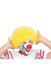 Парик клоуна желтый