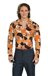 Оранжевая рубашка стиляги