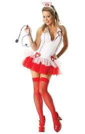 Костюм медсестры с пышной юбочкой