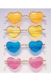 Хипповые очки сердца в ассортименте