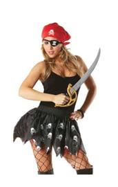 Юбка для пиратки