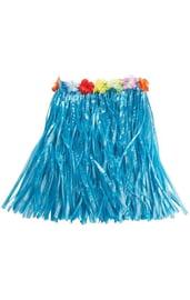 Голубая гавайская юбка