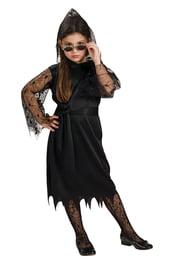 Кружевной готический костюм вампирессы