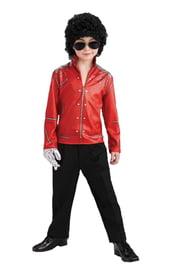 Детский костюм Майкла Джексона красный