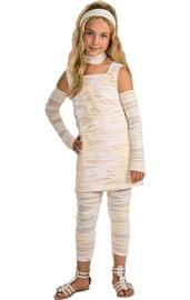 Костюм мумии для девочки