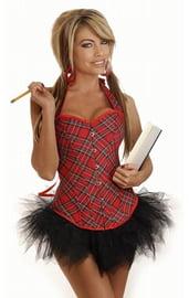 Корсет с юбкой - школьница