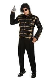 Черный милитари пиджак Майкла Джексена