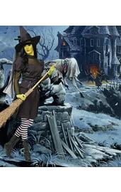 Костюм злой ведьмы