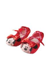 Красные тапочки Мини Маус