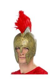 Золотой гладиаторский шлем