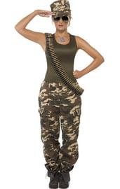 Камуфляжный женский костюм