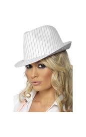 Белая гангста шляпа
