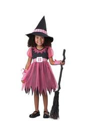 Костюм маленькой розовой ведьмочки
