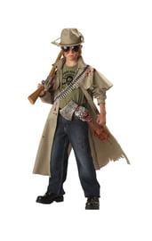 Детский костюм охотника на зомби