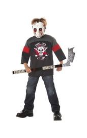 Детский костюм кровавый хоккеист