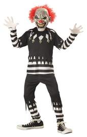 Детский костюм жуткого клоуна