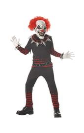 Детский костюм дьявольского клоуна