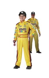 Детский желтый костюм гонщика Кайла