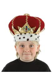 Корона короля детская
