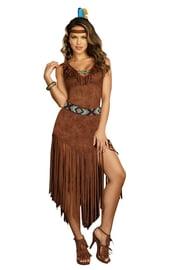 Костюм коренной Американки