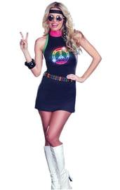 Светящееся диско-платье