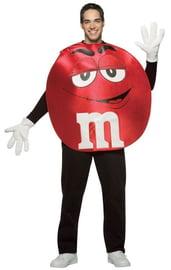 Красный костюм M&M