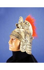 Шлем римского воина золотой