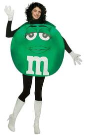 Зеленый костюм M&M